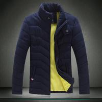 2014 New Arrival Men's Winter Coat Cotton Padded Jacket Autumn Winter Out wear Men's Casual Coat Plus Size M- XXXXXL/5XL m010