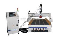 Free sea shipping YASKAWA servo motor 9KW HSD SYNTEC control system ATC cnc router with CE FDA