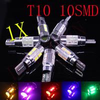 1pcs led t10 canbus,t10 led SIGNAL BULB SMD5630 LENS FREE ERROR,Auto Indicator 168 501 LED BULB,lamp W5W canbus interior light