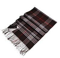 Hot,Winter new scarves men and women thick warm England plaid cashmere scarf ,F526