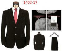 2015 Brand Men Dress Suit Quality Men Business Wool Suit 2PCS Fashion Korea Style Autumn Male Tuxedo Wedding Blazer Suits 1X41