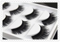 False eyelashes Professional thick fake lashes nude makeup eyelash extensions 5 pairs per pack W39