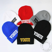 1Pcs Hot Selling New VOGUE Style Fashion Men Women Skull Beanie Hat Winter Fall Hiphop Warm Cap Free Shipping A0408