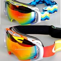 Ski goggles spherical professional snowboard glasses men women snow eyewear snowmobile skiing googles masks airbrake double lens