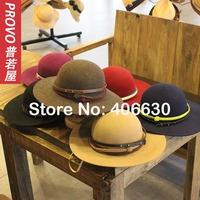2014 winter new wool felt floppy hats for women, ladies church hats, female dress tea party hat,  free shipping