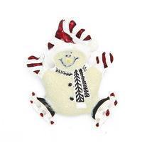 Christmas Gift Christmas Hat Cute Snowman Brooch Brooches Pin MXIUX CY032