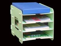 Free Shipping ,GTD supplies, office desk box wood file frame A4 box