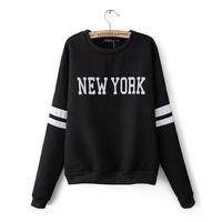 Free shipping autumn women hoodies o-neck women's sweatshirts plus size casual clothes l1330