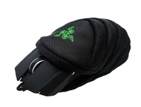 Razer mouse bag Mouse Pouch Handbags black 180d Nylon inner Velvet 115*145*60mm