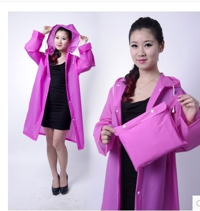 Free shipping Lovely adult raincoat female south Korean fashion outdoors travel gear conventional fission rain long trench coat(China (Mainland))