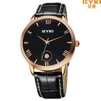 EYKI luxury Jewelry Brand Watches Men Business Casual Sports Waterproof Leather Quartz Watch