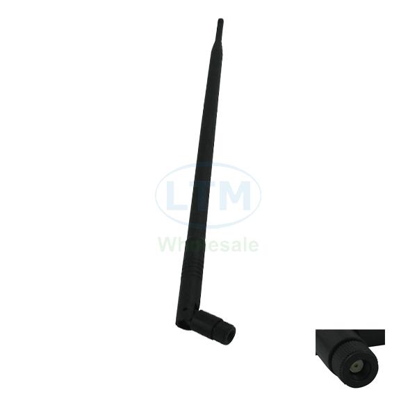 LANTOM 10 9dBi WiFi rp/sma 2.4G 9dBi RP-SMA antenna style 1 made in china 2 4 9dbi rp sma