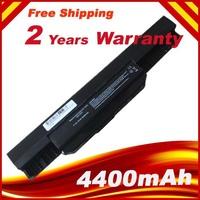 4400mAH battery For Asus A43 A53 A53S A53z A53SV A53SV K43 K43E K43J K43S K43SV K53 K53E K53F K53J K53S K53SV K53T K53U A32-K53