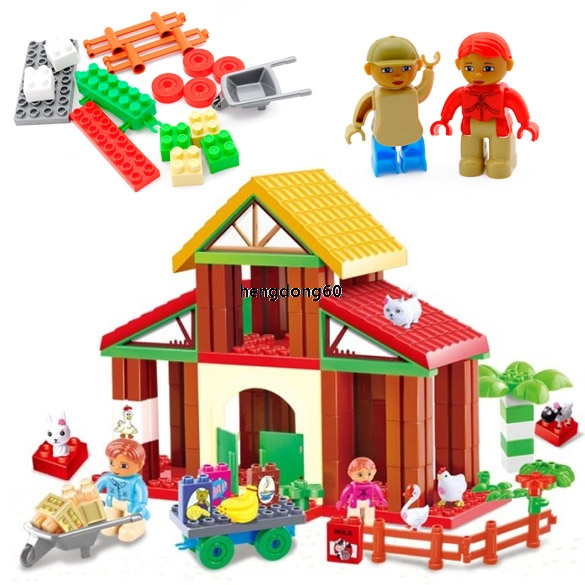 Hot Kids Baby House Animals People Vegetables Farm Game Educational Fun Toy DZ88(China (Mainland))