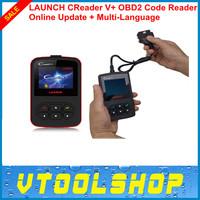 [5pcs/lot] 2014 New Released LAUNCH CReader V+ OBD2 Code Reader 100% Original CReader V Plus Free Online Update + Multi-Language