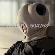 Prix de gros, Le bureau d'oreiller autruche magique l'oreiller de voiture oreiller sieste partout hocher la tête vers le sommeil, Livraison gratuite(China (Mainland))