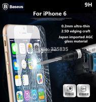 Original Baseus 2.5D edging craft+ 0.2 mm Professional Ultrathin Tempered Glass For iPhone 6 4.7