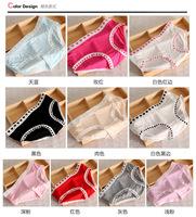 New 2015 Arrivals Women's Solid Briefs 100% Cottont Panties Candy colors female Underpants