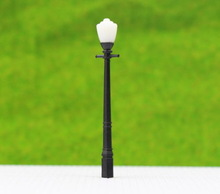 LCX03 10pcs Model Railway Lamppost lamps Street Lights HO OO TT Scale NEW(China (Mainland))