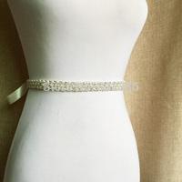 Free Shipping Rhinestone Bridal Sash Wedding Belt Rhinestone Bridal Dress Belt