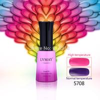 LVMAY Chameleon UV gel 24PCS soak off UV color gel polish Nail Art Temperature Change color gel DHL free shipping