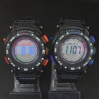 Women Men LED Electronic Multifunctional 30m Waterproof Swim Digital Rubber Wrist Sport Watch 930