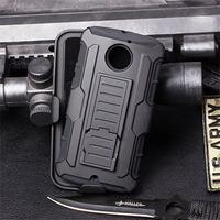 Future Armor Impact Hybrid Hard Case For Motorola Moto X 2nd Gen 2014 X2 X+1 XT1097 XT1095 Phone Cover Belt Clip + Flim + Stylus