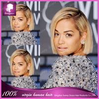 Ombre Bob Wig Cambodian Hair Short Full Lace/Lace Front #1b/27 Ombre Lace Wig Woman Hair Bob Wigs For Black Women