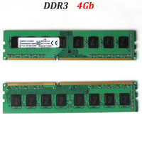 memoria ddr3 4Gb  RAM 1333Mhz 1600Mhz  / desktop DIMM memory ddr 3 1333 1600 4G / can dual channel -- good quality