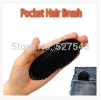 Free shipping 12pcs/lot plastic Pocket Hair Brush hair massage comb