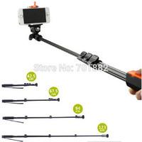 TOP SALE YUNTENG 1288 YT-1288 Fashion Selfie Portable Handheld Monopod Tripod + Bluetooth Remote Control + Clip For Camera Phone