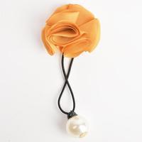 Women Ladies Wedding Bride Hair Clip Hairband Pearl Flower Silver Color