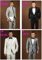 2015 Newest Terno Noivo Fashion Best Prom Dress Suits Men 2PCS Business Wool Wedding Suit/Tuxedo/Men's Jacket+ Pants 1X051