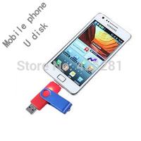 Swivel Mobile phone cellphone Metal Usb flash drive Pen drive Usb memory stick disk Custom logo USB2.0 1GB 2GB 4GB 8GB 16GB 32GB