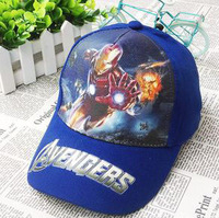 Free Shipping Iron Man Snapbacks Caps Cartoon Children Snapback Hats Fashion Men's Adjustable Hats Most Popular Baseball Cap