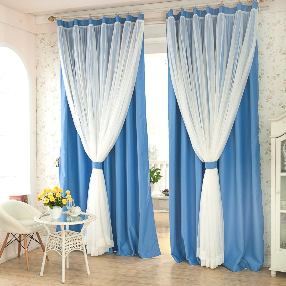 7stories Refined Lace Window Curtains Living Room Balcony Curtains Shading  Top Greade Modern Simplicity Two Layers Cloth U0026 Gauze