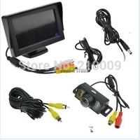 Car Rear View System Backup Reverse Camera Night Vision + 4.3 TFT LCD Monitor