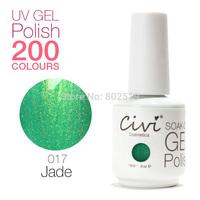 Civi Nail Gel Soak off UV nail gel 30 days Long Lasting 200 Gorgeous Colors The Best Gel Polish Choose 2 Colors