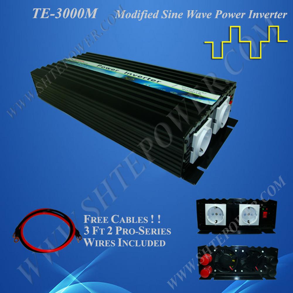 48V 3000W solar wind hybrid inverter, DC-AC power inverter, 48V 220V ac inverters 3KW(China (Mainland))