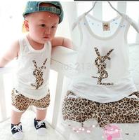 Baby Girls Clothing Sets Girls Clothing Set clothing baby girl lovely vest+short pants set Kids Apparel  Free shipping