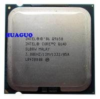 HUAGUO for Intel Core 2 Quad Q9650 3 GHz Quad-Core CPU Processor SLB8W LGA 775