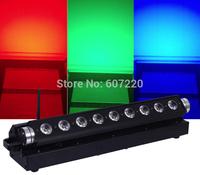 Free shipping Battery Powerd  LED Bar Light  LED  Wall Wash Light  Dj effect Light with RGBWA+UV 6Iin1 led lamp