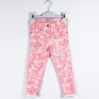 2014 fashion girl's long pants female long pants spring and autumn slim all-match  tight fitting female child trousers