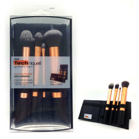Original Quality  Real Techniques Makeup Brush Set& Kit Core Collection 4 Gold Brushes