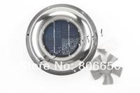 * Eu stock  Solar Power  Attic Fan solar ventilators solar roof fan solar Vent for boat RV,for home solar system,  free shipping