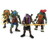 4PCS/LOT 2014 Teenage Mutant Ninja Turtles Kids Toys Action Figure Juguetes Tortugas Ninja Minecraft Boy Toys