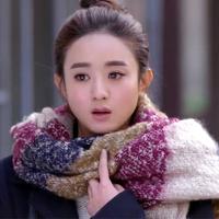 scarf female winter knitted yarn ultra long women's scarf