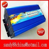 HOT SALE!! 2000W Off Inverter Pure Sine Wave Inverter DC12V to 220V Wind Solar Power Inverter
