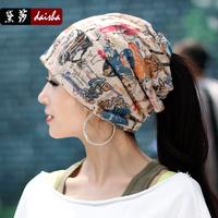 Hat female autumn and winter turban cap winter cap toe covering female cap pile cap winter hat female