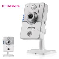 Mini IP Camera Wireless CCTV Cube Camera 2-way 720P HD P2P Internet Peneration Security Network Infrared night Vision